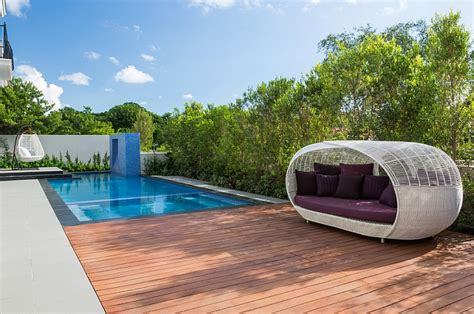 pool beds stylish and fashionable outdoor beds for the ultimate backyard lounge