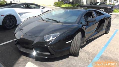 Lamborghini Aventador All Black Black Lamborghini Aventador Lp700 4