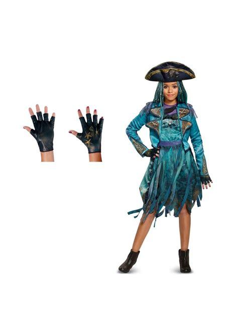 descendants  uma girls costume  gloves set disney