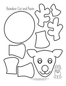 color and cut learning printables for