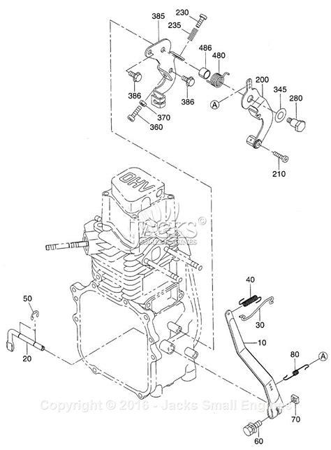 subaru engine parts diagram robin subaru eh09 parts diagram for governor parts