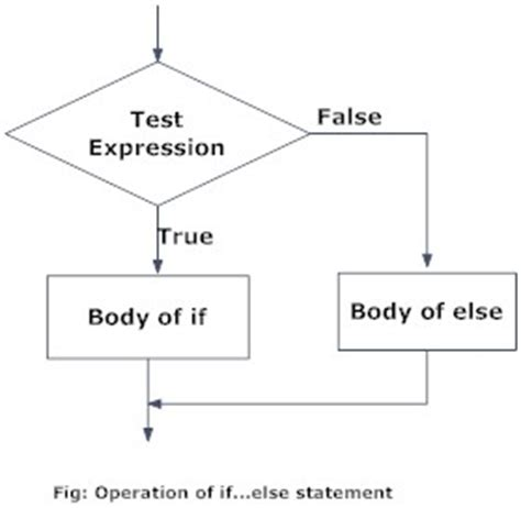 flowchart of if else statement in c python if if else if elif else and nested if statement
