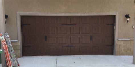 Garage Doors Installed Garage Door Installation Residential 3630 New Construction