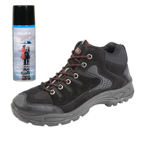 waterproof spray for boots mens new hiking walking boots with waterproof spray size 6