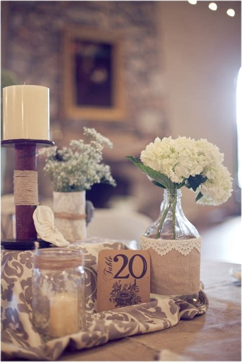 shabby chic wedding table decorations 67 best images about shabby chic center pieces on