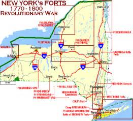 forts map ny state forts