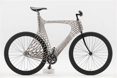 design milk bike a functioning 3d printed stainless steel bicycle design