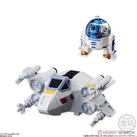 Wars Converge R2 D2 wars converge vehicle x wing starfighter r2 d2 shokugan item picture2