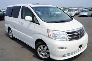 Toyota Car Rental Japan Locations Toyota Alphard 3 0 Vvti Mz 37 000 Japautoagent Ltd