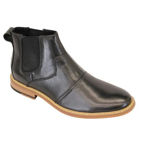 mens designer ankle boots mens cavani boots chelsea dealer shoes high ankle leather