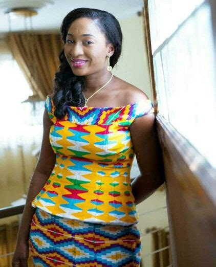 Nelsa Blouse 17 best images about style it in kente on fashion style ankara and
