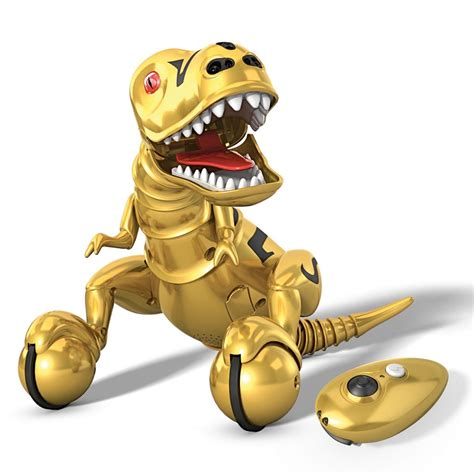 toys r us zoomer zoomer dino limited edition metallic gold finish toys r us exclusive products zoomer