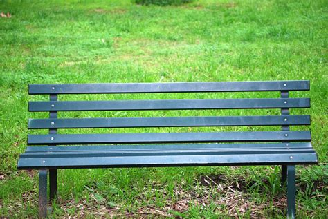 park bench green park bench free stock photo public domain pictures