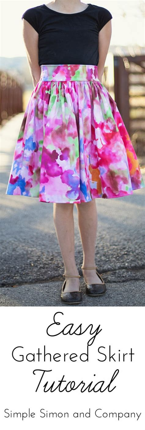 easy skirt pattern 36 sewing project for women s fashion
