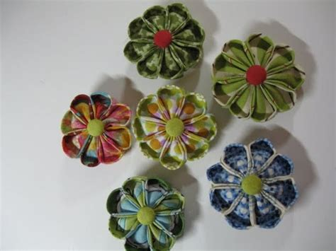 Handmade Flower With Fabric - kathy s handmade fabric flowers