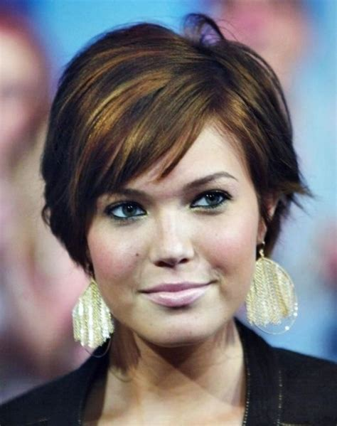 haircuts for plus size women with round faces short hairstyles for plus size women with round faces