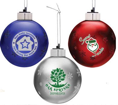 light up custom christmas ornaments