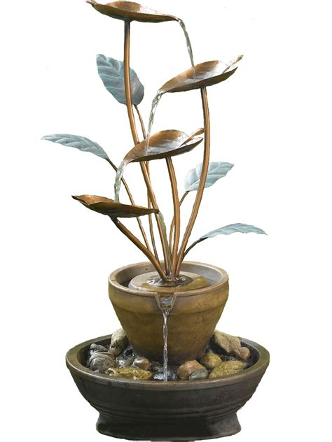 self contained solar powered strobe light solar powered york copper cascade water feature water