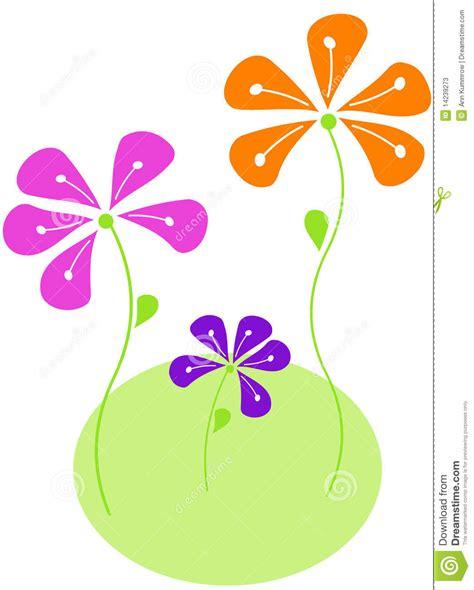 imagenes vectores de flores flores abstractas del vector ilustraci 243 n del vector