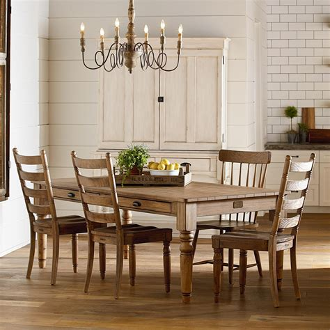 magnolia home joanna gaines primitive primitive dining room group jacksonville furniture mart formal dining room groups