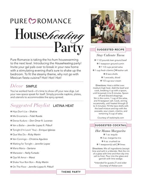 party themes for pure romance 17 best images about pure romance party themes on pinterest