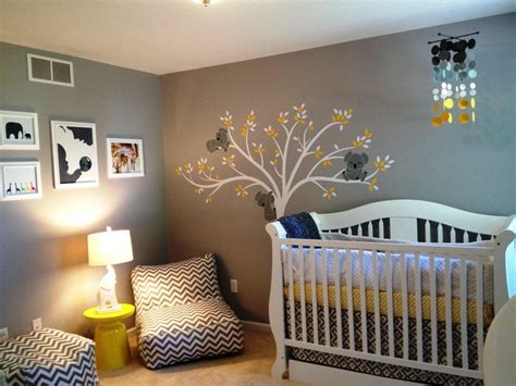 Unique Nursery Decor Neutral Baby Rooms Ideas