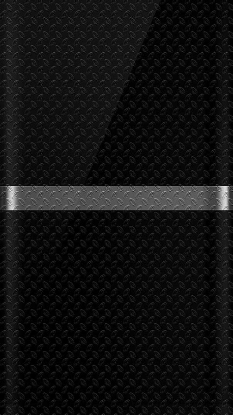 wallpaper metal edge dark s7 edge wallpaper 07 with black background and silver