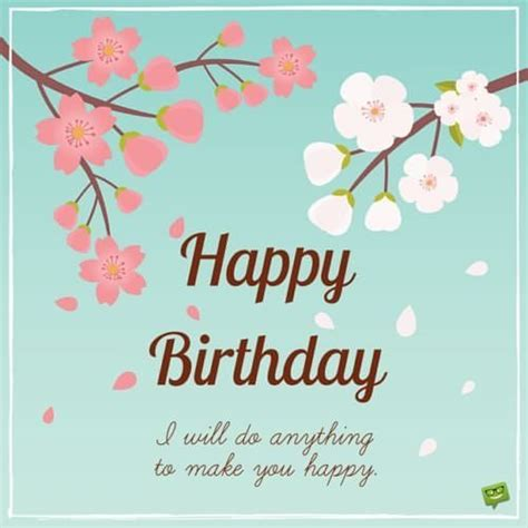 Happy Birthday To U Wishes Cute Birthday Messages To Impress Your Girlfriend
