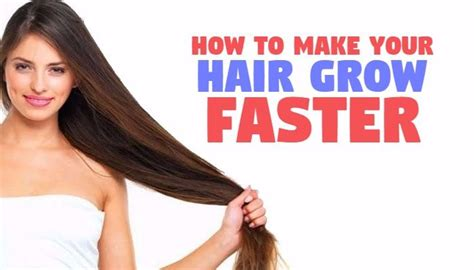 how to make your hair grow faster fast hair growth pkhowto