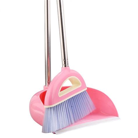 Set Hq Premium Mustika Fanta new arrival broom dustpan set plus thickening anti skid broom applies to office kitchen high