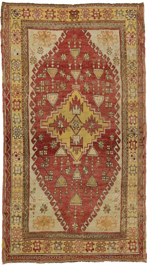 Turkish Tribal Rugs antique turkish oushak tribal rug 5 7 quot x 10 image 2