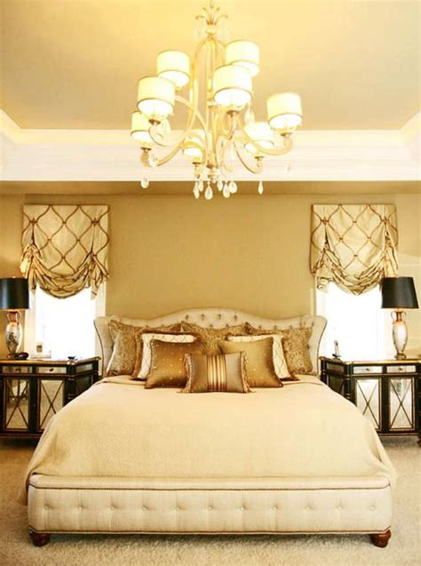 Bedroom In Cream Gold Master Bedroom Pinterest