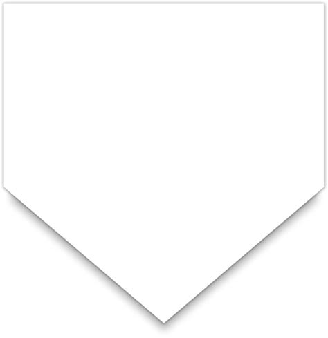 baseball home plate dimensions images