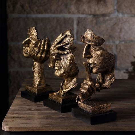 home decor statues sculptures gift resin abstract craft figurines decorative sculptures