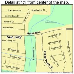 sun city california map sun city california map 0675826