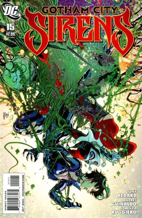 siren in the city sirens book 2 volume 2 gotham city sirens 1 dc comics comicbookrealm