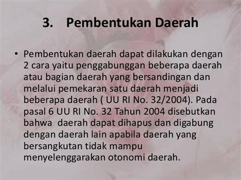 Uu Ri No 32 Dan 33 Tahun 2004 Tentang Otoda 2004 2010 konsep dasar politik dan pemerintahan edite 1