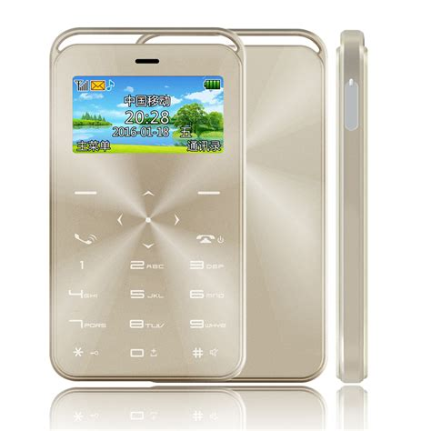 Card Phone S6 by Gtstar S6 Ultra Thin Card Phones Portable Mini Mobile