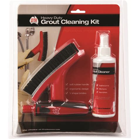 dta australia heavy duty grout cleaning kit ebay