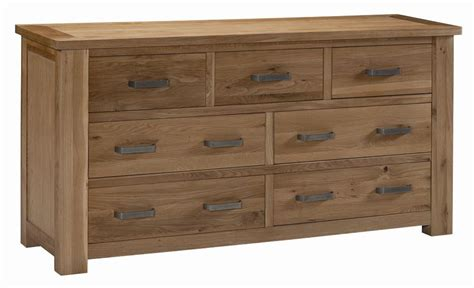 What Is A Drawer by Amersham Solid Oak Bedroom Furniture Large Wide Chest Of