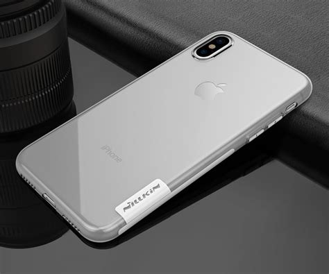 Nillkin Nature Tpu Soft Apple Iphone 8 Iphone 7 Brown nillkin silicone nature tpu for apple iphone x iphone 10 5 8 us 9 5 nillkin