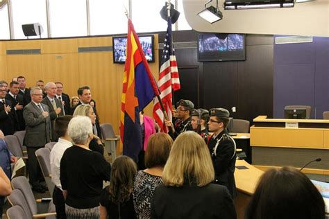 Tempe Municipal Court Records Tuhsd Jrotc Color Guard