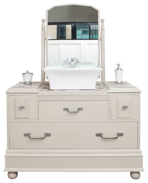 traditional style vanity unit traditional bathroom