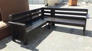 Patio Furniture Cape Town by L Shaped Garden Bench Outdoor Furniture
