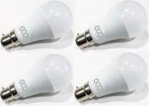 led light bulb pack 3 pin bc3 12w energy saving led light bulb 4 pack