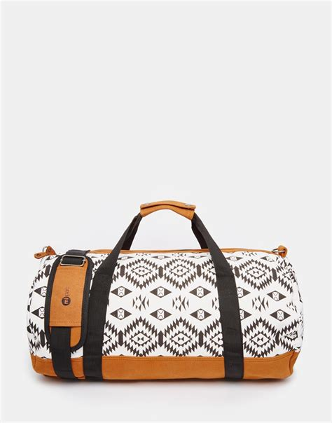 The Winter White Anthropologie Travel Duffle by Mi Pac Mi Pac Weekend Travel Bag Lyst