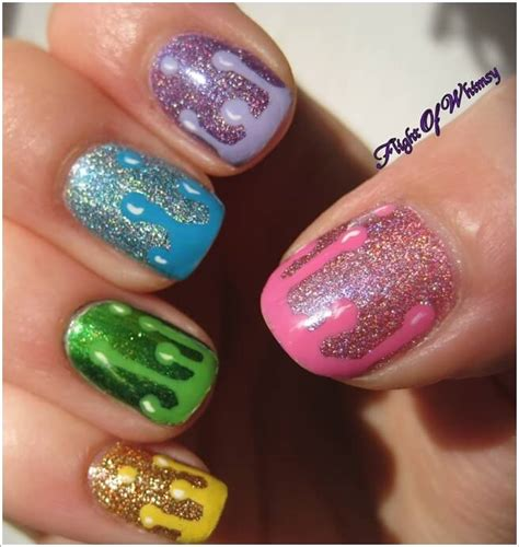 Glitter Nail Paint Design 10 cool ways to design nails with glitter nail paint
