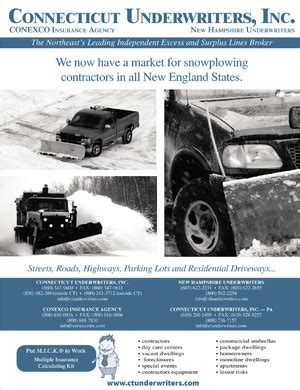 Connecticut Underwriters, Inc. ad in Insurance Journal