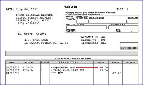 Patient Copay Letter complete release notes 2012