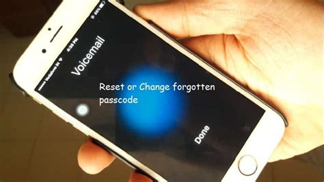 reset voicemail password att iphone reset forgot voicemail password on iphone verizon at t